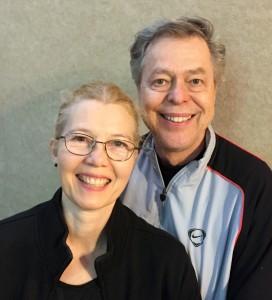 Jaap Leegwater and Mea Nordenfelt